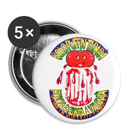 Puffin - Confezione da 5 spille piccole (25 mm)