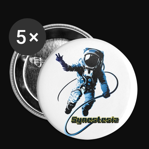 Synestesia Spaceboy - Buttons klein 25 mm (5er Pack)