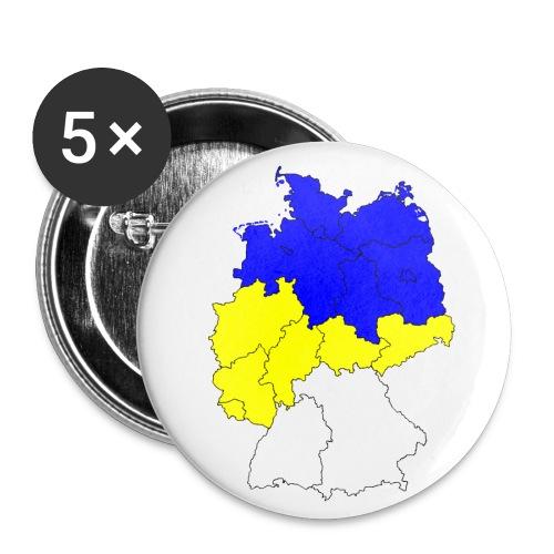 fcc deutschland2 - Buttons klein 25 mm (5er Pack)