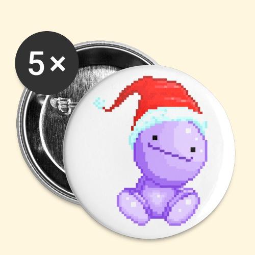 Nohohon de Noël - Bonnet du Père Noël - Badge petit 25 mm