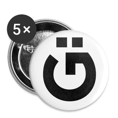GU - Buttons klein 25 mm (5er Pack)
