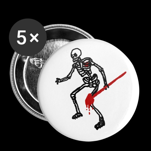 Pirateer Pt 2 808punks png - Buttons small 1''/25 mm (5-pack)