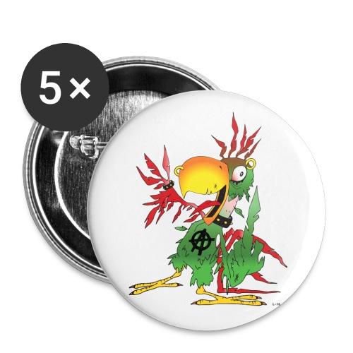 Sebb transparent - Liten pin 25 mm (5-er pakke)
