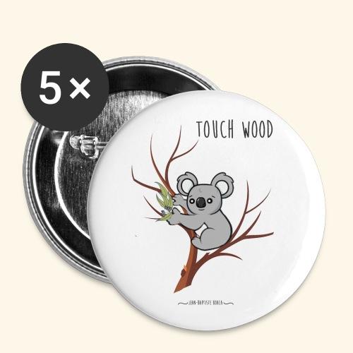 koala's tree - Lot de 5 petits badges (25 mm)