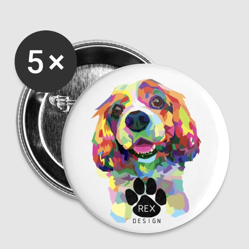 Begging You To Play - Buttons small 1''/25 mm (5-pack)