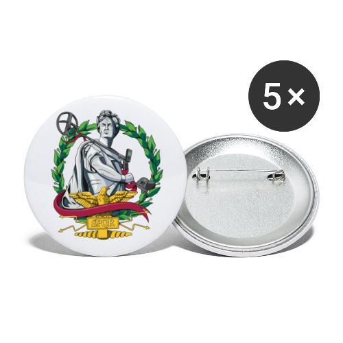 Imperium Detectorist - Paquete de 5 chapas pequeñas (25 mm)