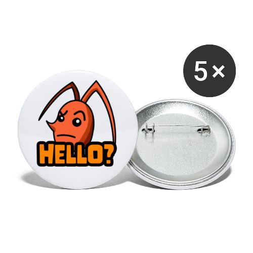 Funtronix - Hello Emote - Buttons klein 25 mm (5er Pack)