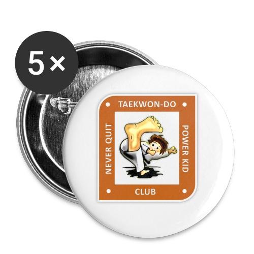 NQPK Logo orange png - Buttons klein 25 mm (5er Pack)