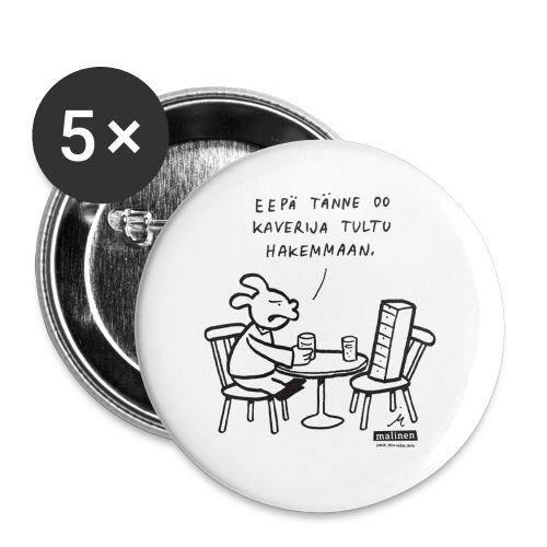 malinenkaveri - Rintamerkit pienet 25 mm (5kpl pakkauksessa)
