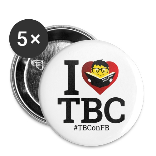 Total Logo PNG - Buttons small 1''/25 mm (5-pack)