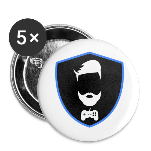 Kalzifertv-logo - Buttons/Badges lille, 25 mm (5-pack)