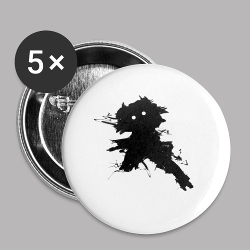 Charlie The Scratch Kid - Buttons small 1''/25 mm (5-pack)