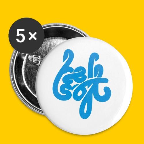 Be Soft - Små knappar 25 mm (5-pack)