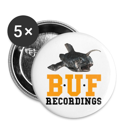 BUF Logo 1 - Buttons small 1''/25 mm (5-pack)