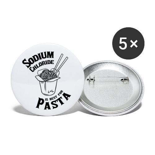 Pasta Water - Buttons klein 25 mm (5er Pack)