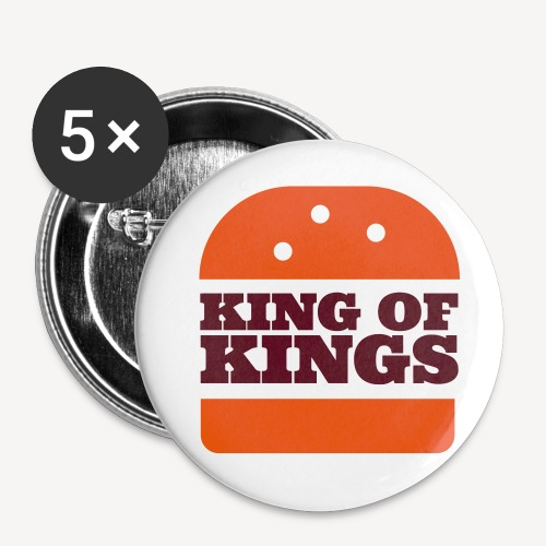 KING OF KINGS - Buttons small 1''/25 mm (5-pack)