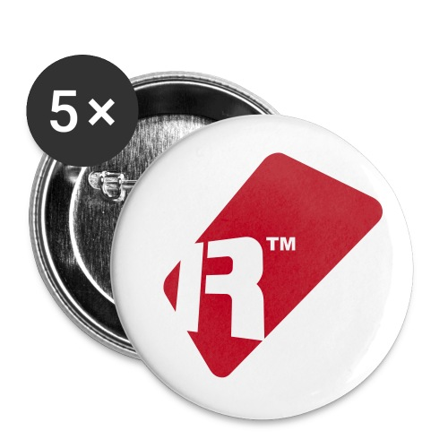 Renoise Tag - Buttons small 1''/25 mm (5-pack)