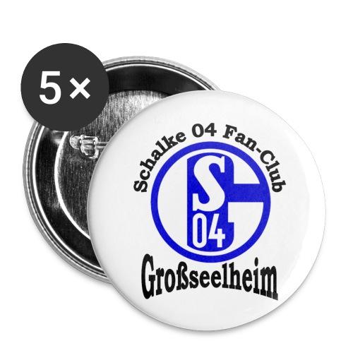 s04logo1 - Buttons klein 25 mm (5er Pack)