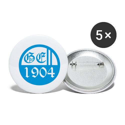 ge button - Buttons klein 25 mm (5er Pack)