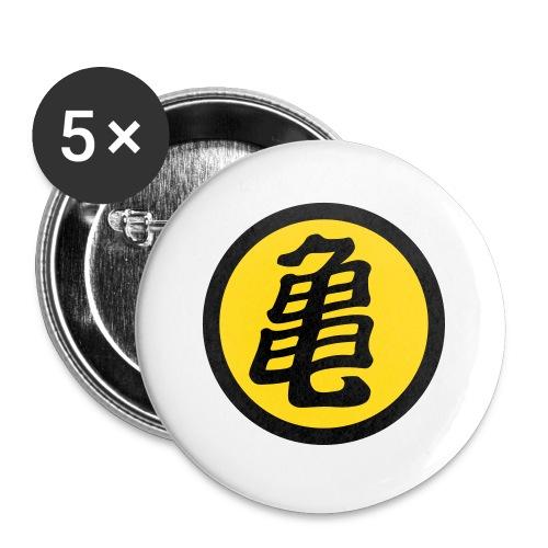 Kame - Paquete de 5 chapas pequeñas (25 mm)