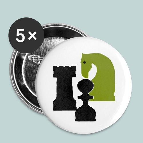 Figurenguppe1 - Buttons klein 25 mm (5er Pack)