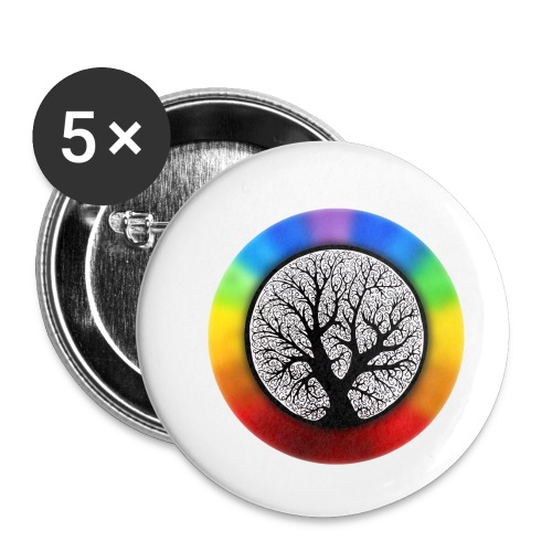 tree of life png - Buttons klein 25 mm (5-pack)