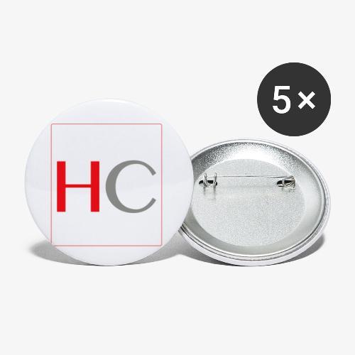 hc png - Lot de 5 petits badges (25 mm)