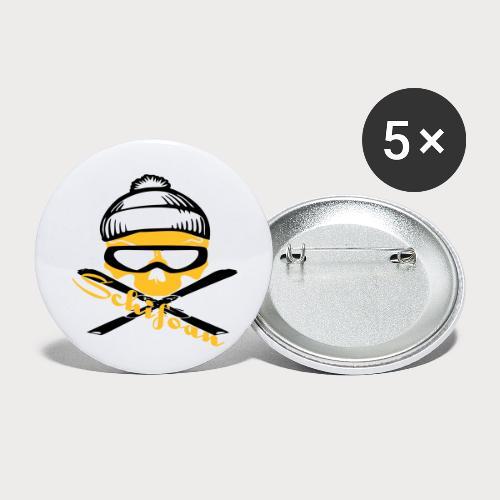 schifoan - Buttons klein 25 mm (5er Pack)