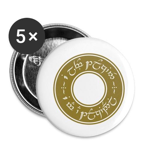 I am a Tolkiendil - Lot de 5 petits badges (25 mm)