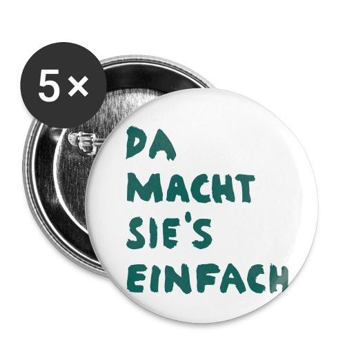 Ella Da macht sies einfach - Buttons klein 25 mm (5er Pack)