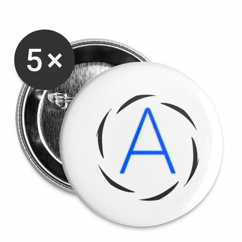 Icona png - Confezione da 5 spille piccole (25 mm)