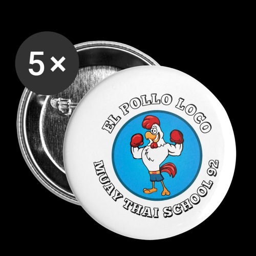 MTS92 EL POLLO LOCO FINAL 2 - Lot de 5 petits badges (25 mm)
