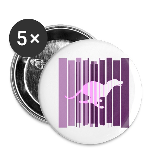 Sighthound In Purple Women's T - Buttons small 1''/25 mm (5-pack)