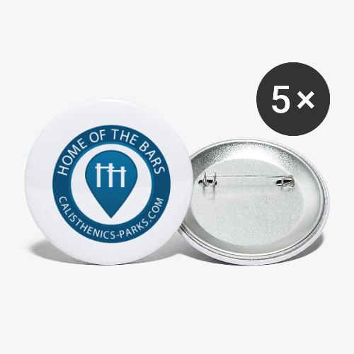 Calisthenics Parks Logo - Buttons small 1''/25 mm (5-pack)