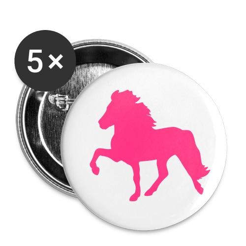 Tölter - Buttons klein 25 mm (5er Pack)