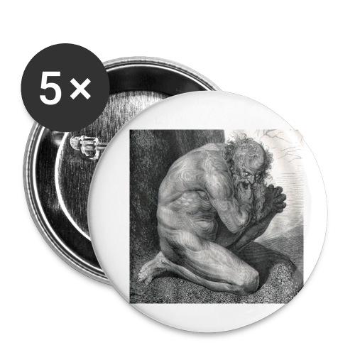 Pape Satan, Pape Satan aleppe - Confezione da 5 spille piccole (25 mm)