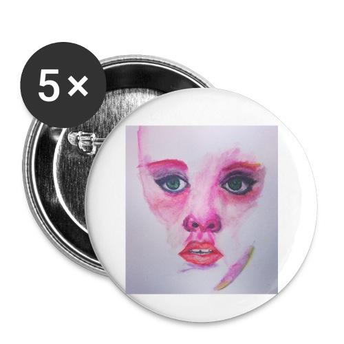 3-jpeg - Paquete de 5 chapas pequeñas (25 mm)