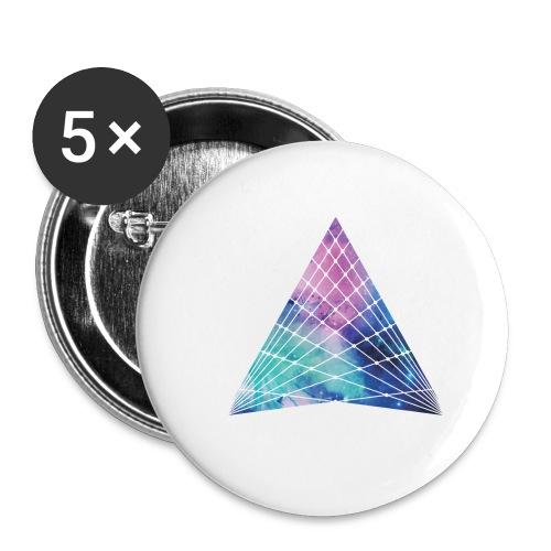 HTTPSTER - Buttons klein 25 mm (5-pack)