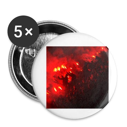 #Tifo - Små knappar 25 mm (5-pack)