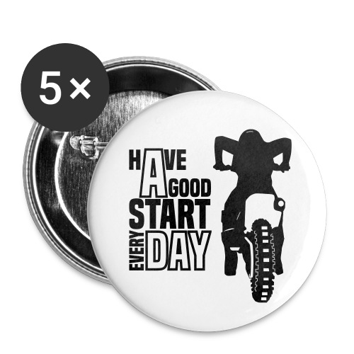 Have a good Start MX (HQ) - Buttons klein 25 mm (5er Pack)