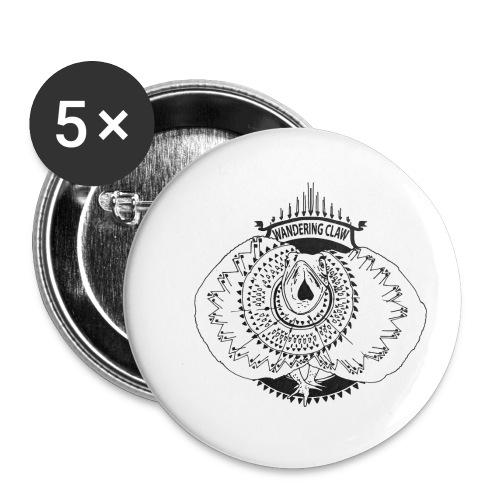 Rettile - Confezione da 5 spille piccole (25 mm)