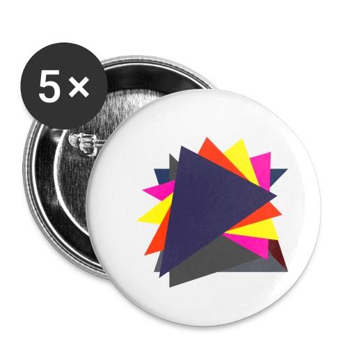 art triangle - Przypinka mała 25 mm (pakiet 5 szt.)