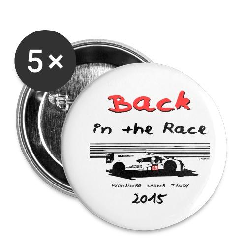 919 back in the race 2 - Lot de 5 petits badges (25 mm)
