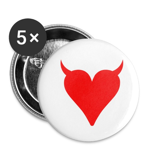 1 png - Buttons small 1''/25 mm (5-pack)