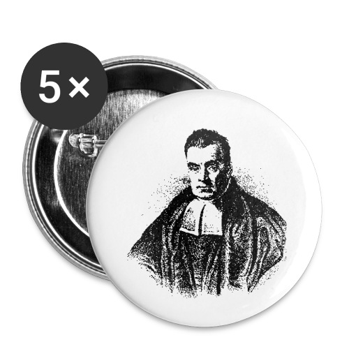 Women's Bayes - Buttons small 1''/25 mm (5-pack)