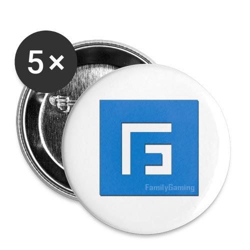 Fg - Lot de 5 petits badges (25 mm)