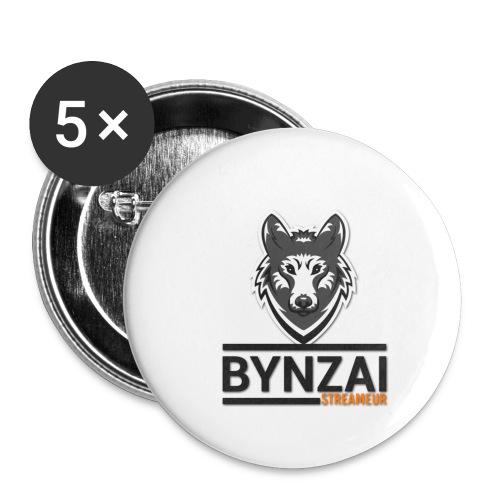 Mug Bynzai - Lot de 5 petits badges (25 mm)