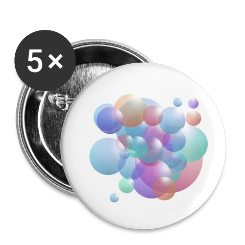bubble - Buttons klein 25 mm (5er Pack)