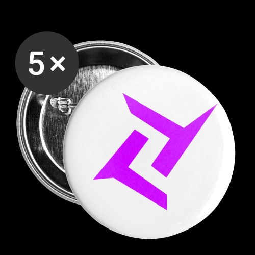 New logo png - Buttons klein 25 mm (5-pack)
