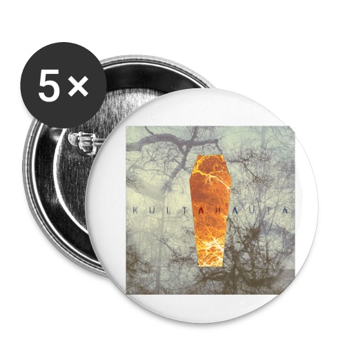 Kultahauta - Buttons small 1''/25 mm (5-pack)